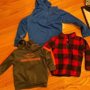 warm winter shirt bundle 2t - 3t - 4t